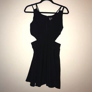 Urban Outfitters LBD with side cut outs
